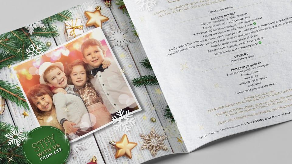 Holiday Inn Christmas Brochure 2017