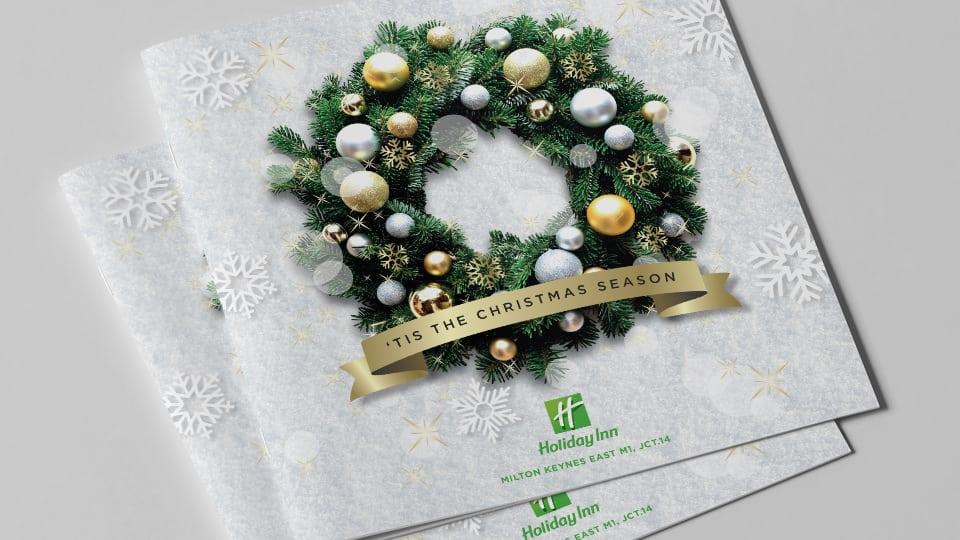 Holiday Inn Christmas Brochure 2017 Cover
