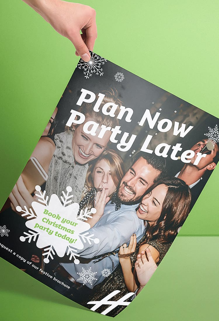 Holiday Inn Christmas Campaign 2018 Poster