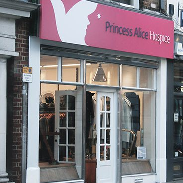 Princess Alice Hospice Retail Brand Refresh
