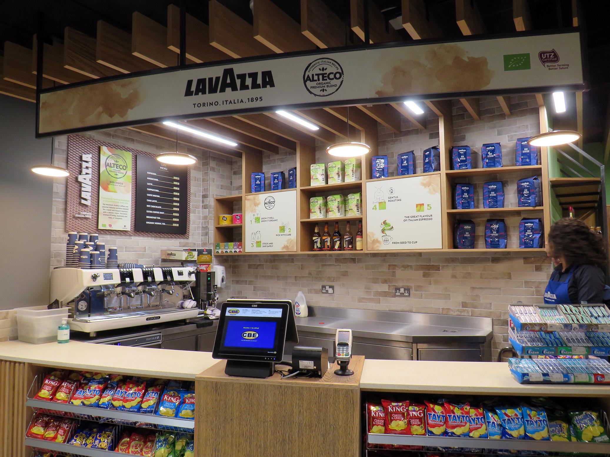 Lavazza Dublin Airport