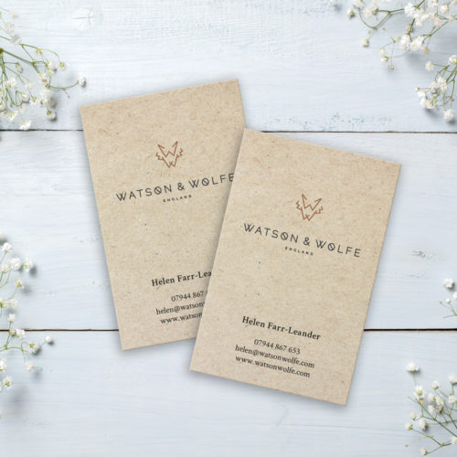 Watson & Wolfe Business Cards